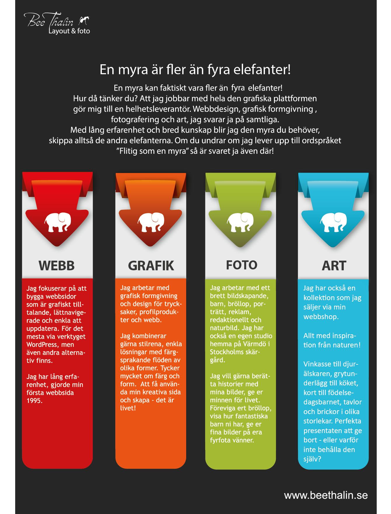 Webbyrå/Reklambyrå/Fotograf - Allt under samma tak!
