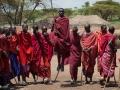 Masajer i en masajby Tanzania