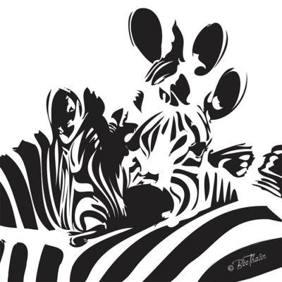 Tavlor - art - Zebra Art
