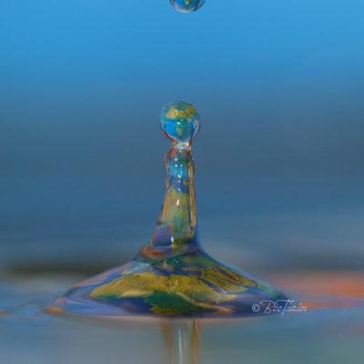 Droppar - Tavla - Världens vatten