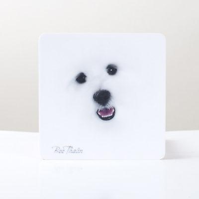 Glasunderlägg - The Face
