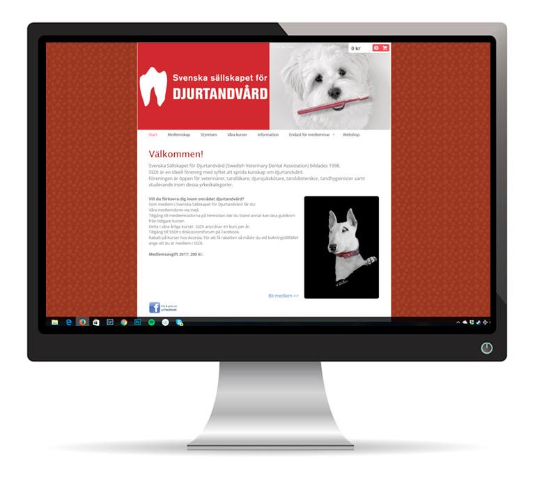 SSDT Svenska sällskapet för djurtandvård