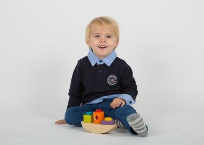Barnfotografering i studion